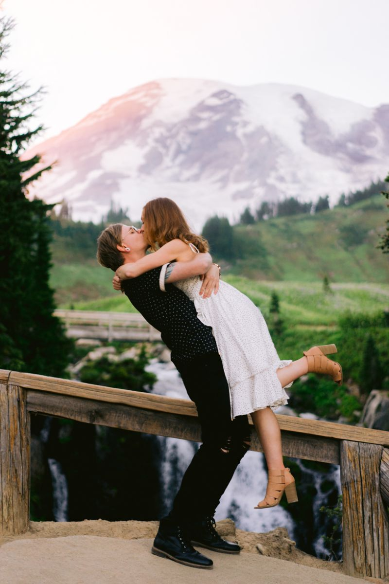 Mt.Reinier Engagement | Trung Phan Photography